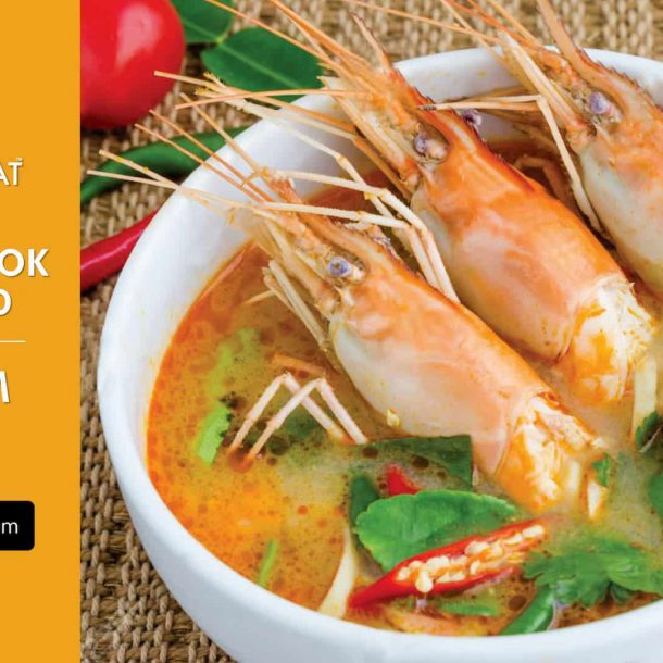 How to cook Tom Yum Kung