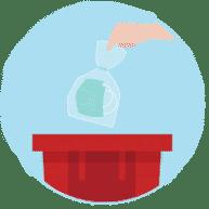 COVID-19 disposal waste
