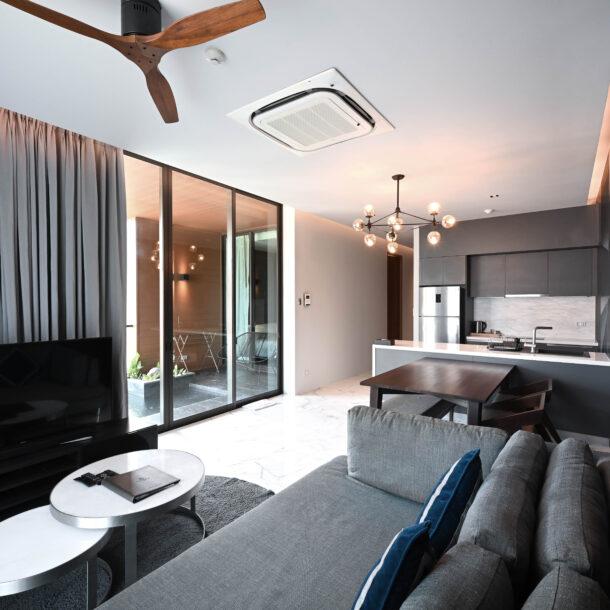 2 bedroom suites living
